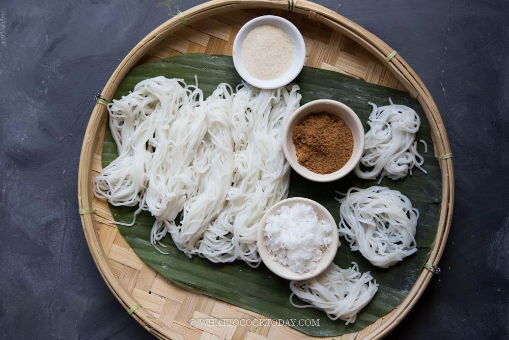 Easy Putu Mayam / Putu Mayang (Idiyappam)