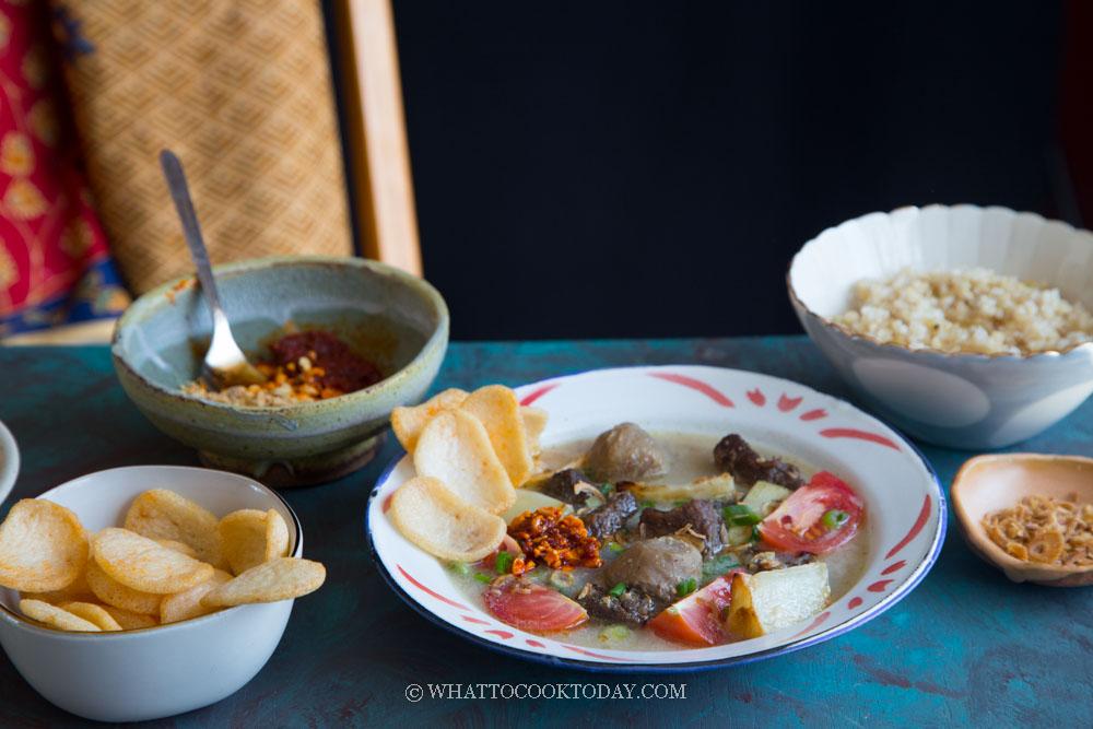 Soto Daging Betawi Jakarta Beef Soup