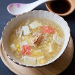 Easy One-Pot Tofu Crab Meat Soup