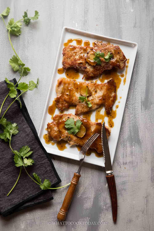 Easy Chinese Black Pepper Pork Chop