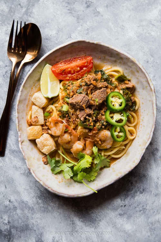 Mee Bandung Muar (Malaysian Bandung Noodles)