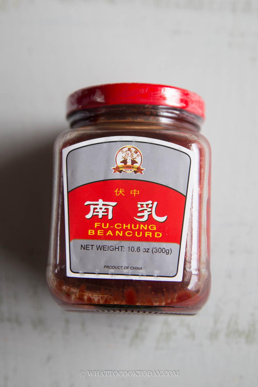 Nam Yue (red fermented bean curd)