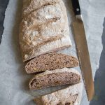Very Easy No-Knead Wholemeal /Whole Wheat Bread