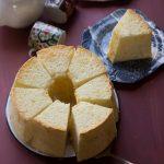 Soft Fluffy Cream Cheese Chiffon Cake