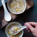 Barley Ginkgo Nut Bean Curd Dessert Soup