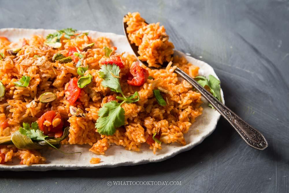 Easy Malay Tomato Rice (Nasi Tomato)