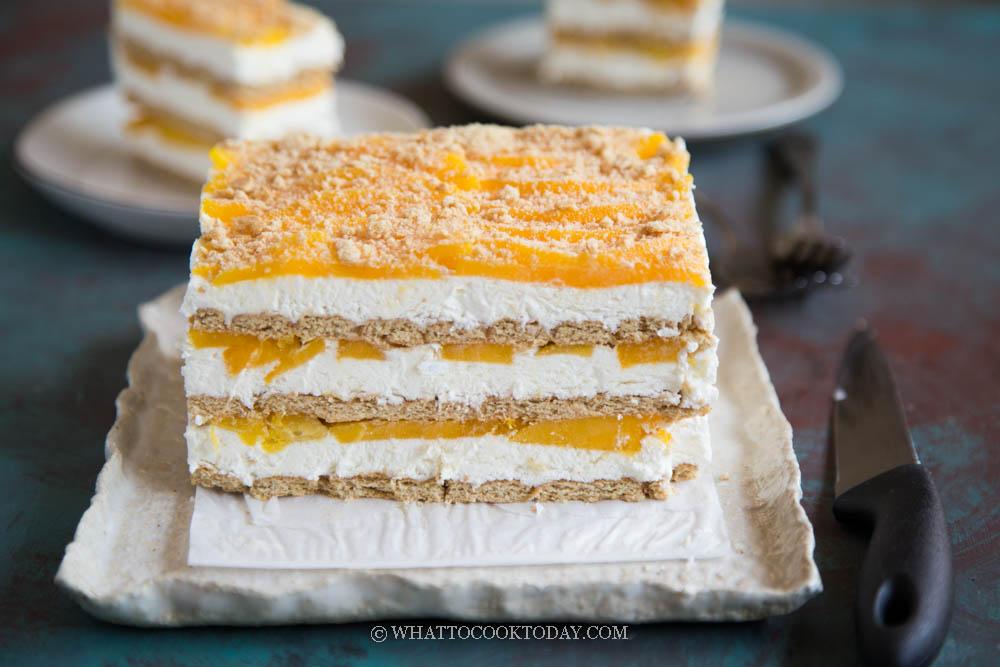 Easy No-Bake Mango Float Icebox Cake