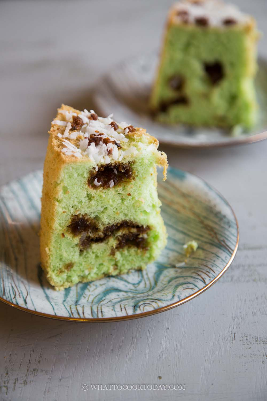 Onde Onde Chiffon Cake