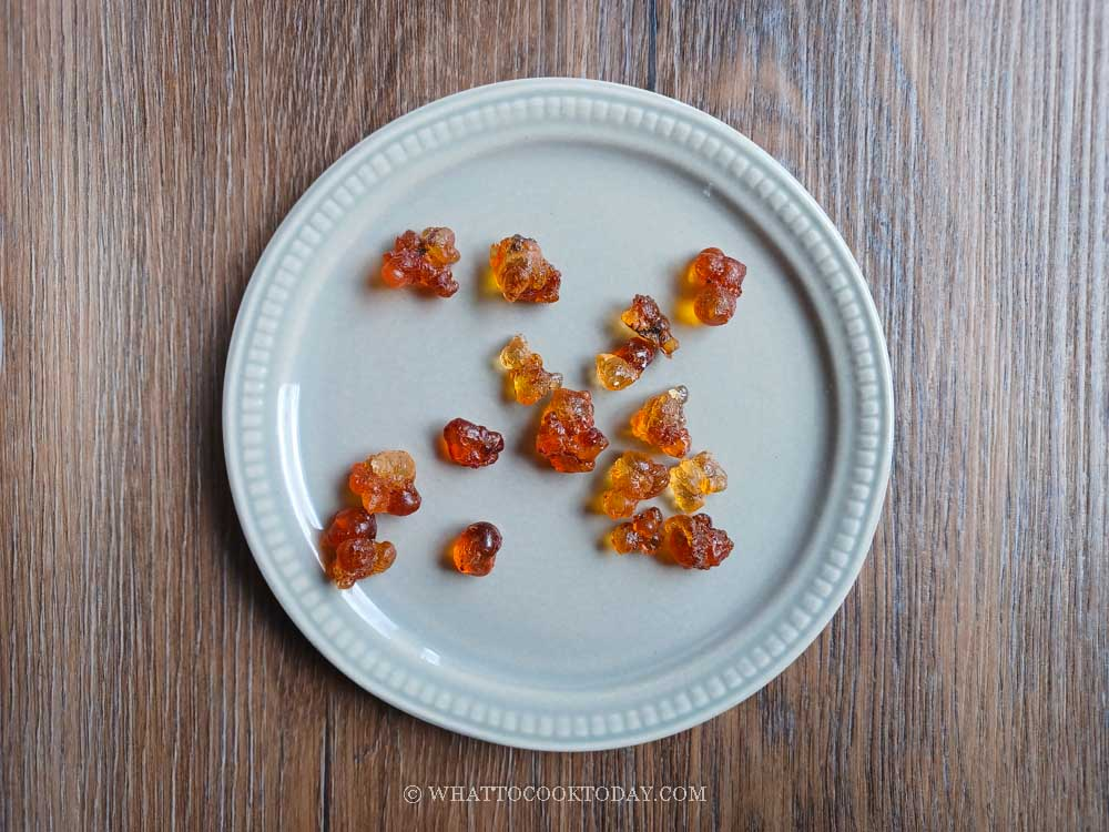 How To Make Peach Gum Tong Sui Dessert