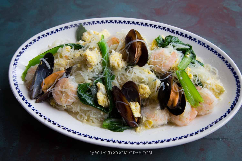 Singapore Seafood White Bee Hoon