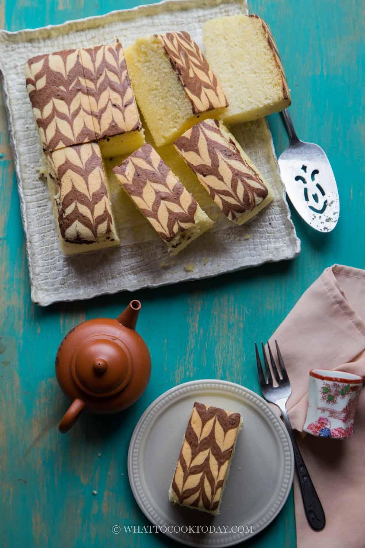 Durian Sponge Cake