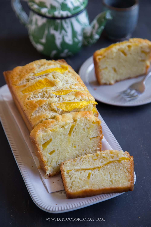 Mango Butter Cake / Kek Mentega (Whole-Egg Method)