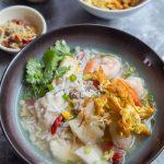 Easy Homemade Seafood Pao Fan (Soup Rice)