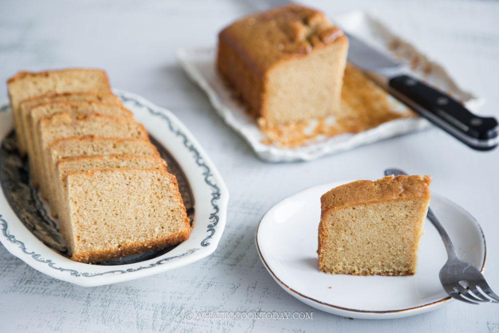 Gula Melaka Butter Cake (Palm Sugar Kek Mentega)
