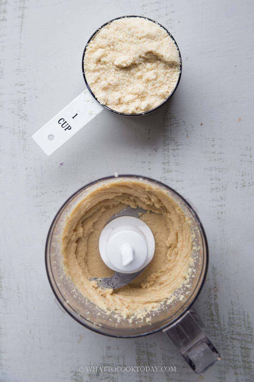 Easy Homemade Almond Butter with Almond Flour or Almond Meal (No Added Oil)