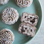 No-Bake Oreo Cream Cheese Snow Skin Mooncakes