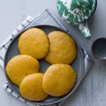 Pumpkin Hee Pan (Hakka Xi Ban/ Steamed Buns)