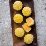 Easy Pumpkin Snow Skin Mooncake