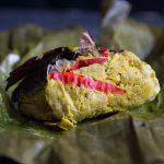 Tum Ayam Bali (Balinese Steamed Chicken in Banana Leaves)