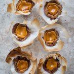 Dalgona Candy Coffee Basque Burnt Cheese Cupcakes