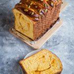 Super Soft Pumpkin Milk Bread Loaf (Poolish Method)