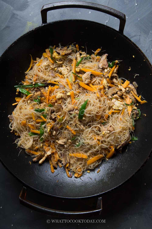 Taiwan Stir-fried Pumpkin Rice Vermicelli Noodles